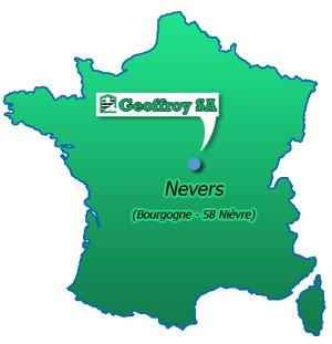 Ou Se Trouve Nevers Sur La Carte De France | My blog